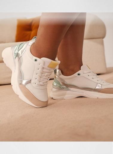 Aldo Dardoviel - Beyaz Kadin Sneaker Beyaz